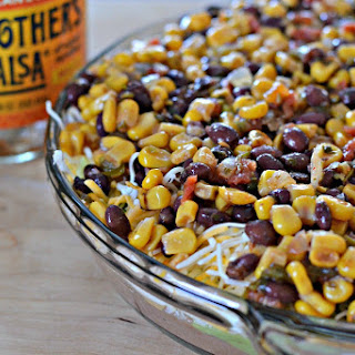 Black Bean and Corn Salsa Dip