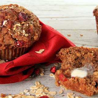 Cranberry Honey Pecan Bran Muffins.