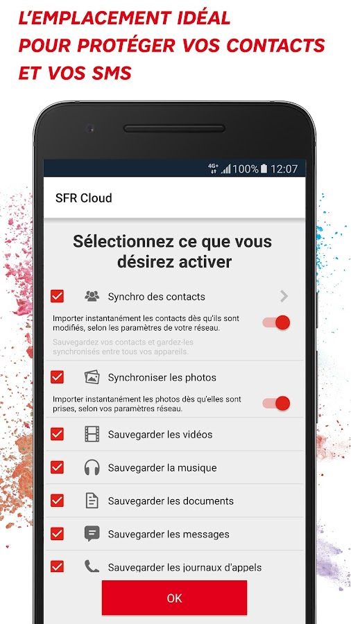 SFR Cloud- screenshot