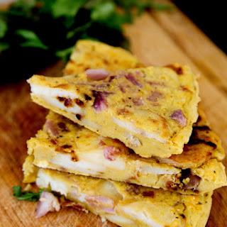 Spanish Omelette (Vegan + GF).