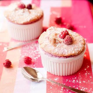 Raspberry Souffle.