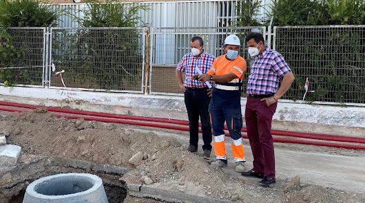 Comienzan las obras del corredor peatonal de La Fuente en Pulpí