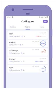 Codinguru: Learn Programming with quiz (MOD, Pro) v3.0.5 2