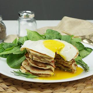 Savory Sun-dried Tomato Pancakes