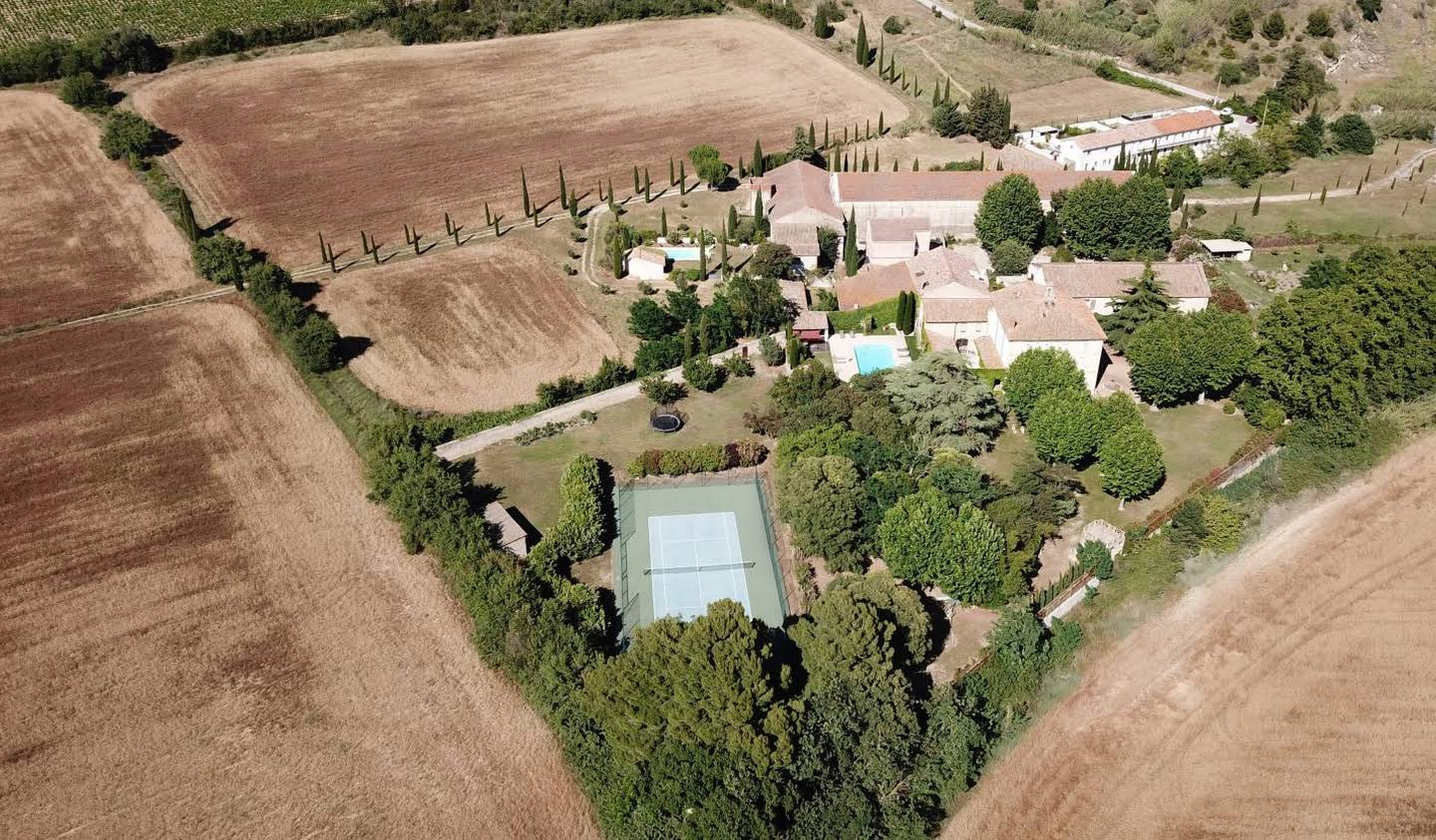Property with pool and garden Montady