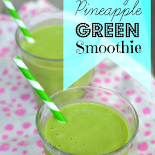 Peachy Pineapple Green Smoothie