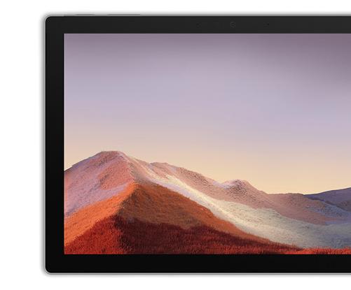 Surface Pro 7 幅のあるベゼル