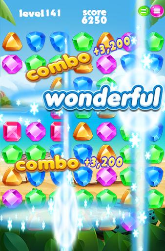 jungle jewel match 3 puzzle