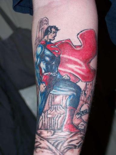 Superhero Tattoos WP