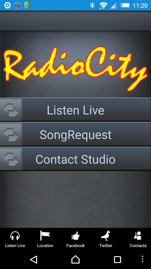 Radio City 1386AM- screenshot