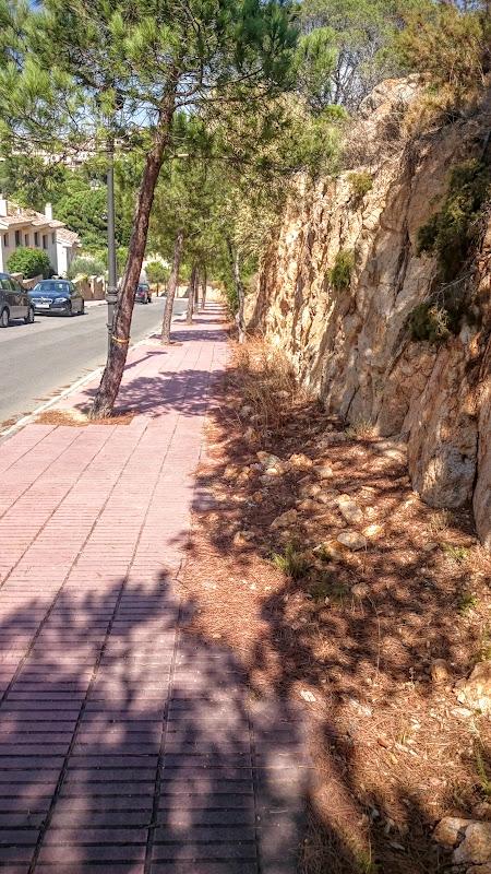 Camino de Ronda (Коста-Брава), прогулка в районе Platja d'Aro