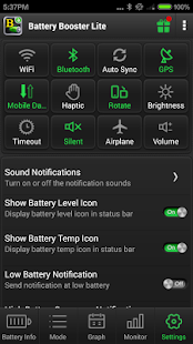 Battery Booster Lite- screenshot thumbnail