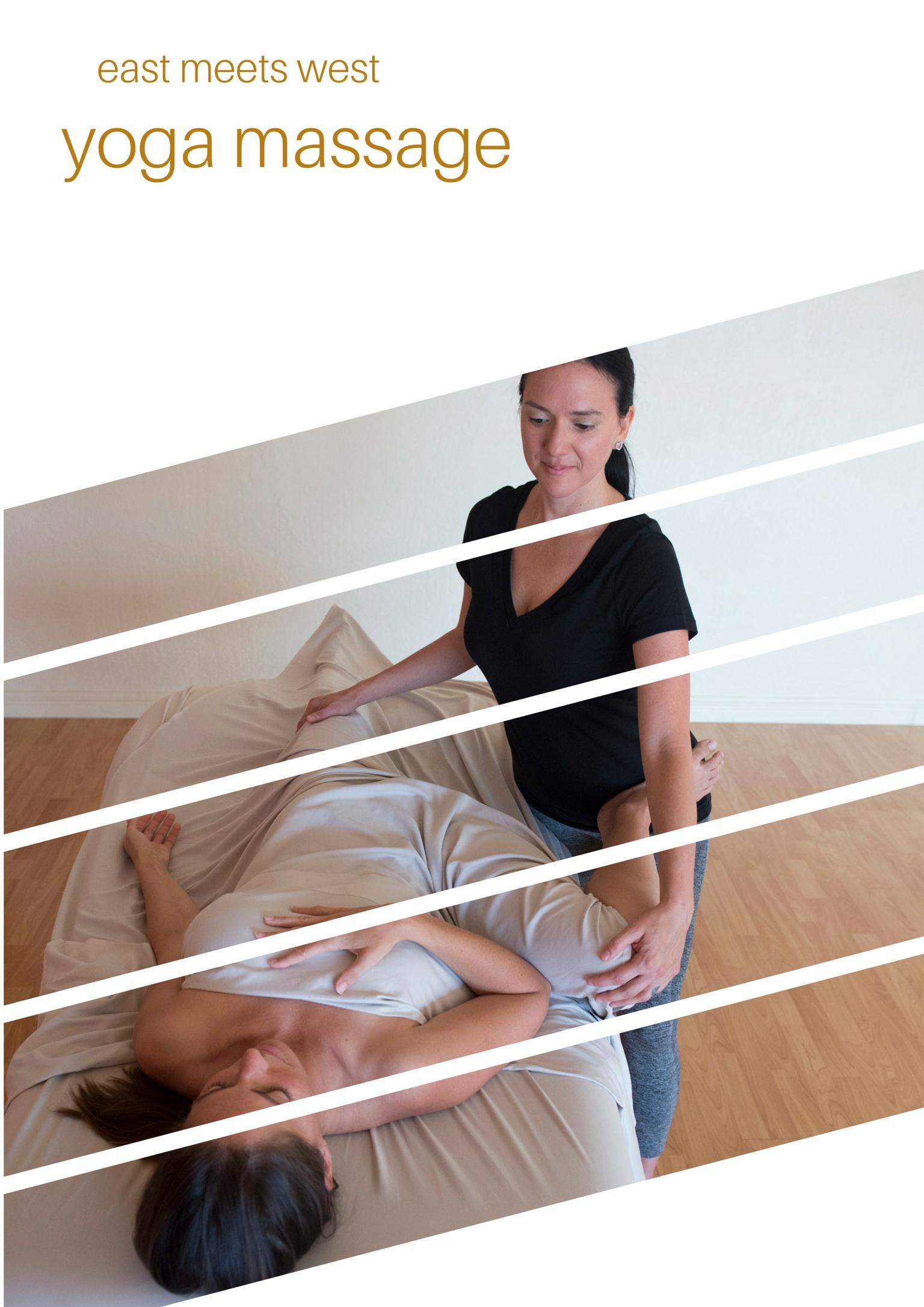 East Meets West: Yoga Massage