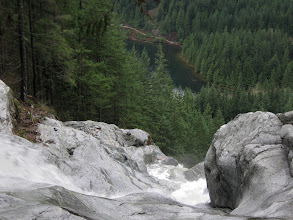 Photo: Swan waterfall, below is the lake