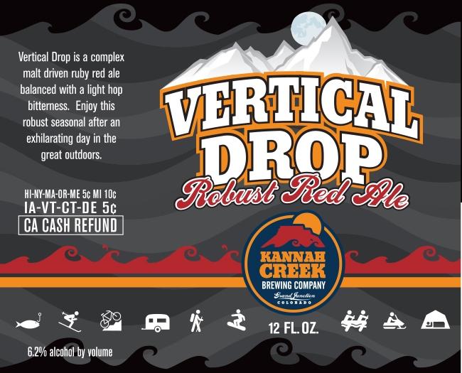 Logo of Kannah Creek Vertical Drop