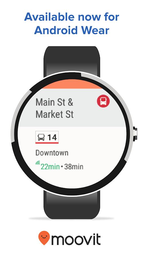 Moovit: Next Bus & Train Info- screenshot