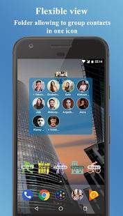 Kontakten-Widget Screenshot
