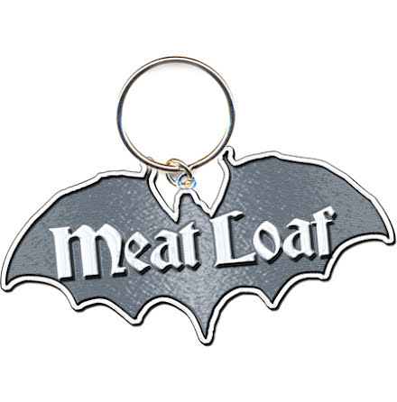Meat Loaf - Bat Logo - Nyckelring
