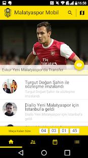 Malatyaspor Mobil Screenshot
