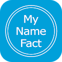 My Name Meaning  what is in your name, Name fact icon