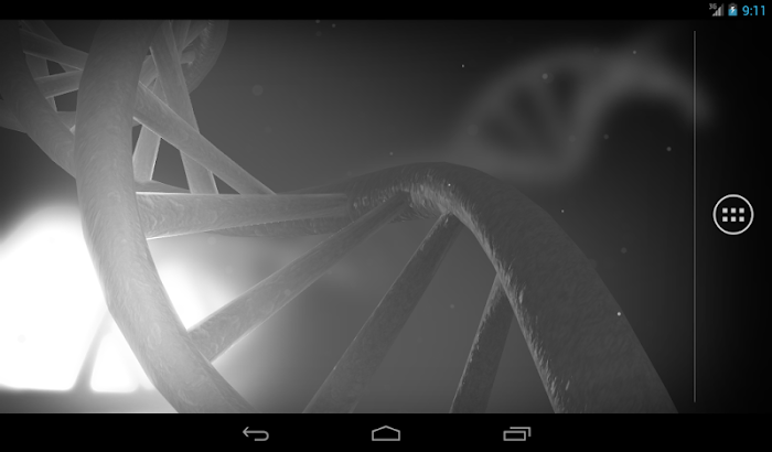 Double Helix Live Wallpaper- screenshot