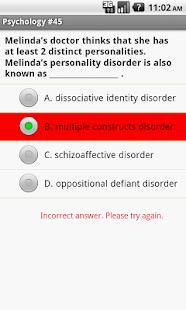 CLEP Psychology Exam Prep- screenshot thumbnail