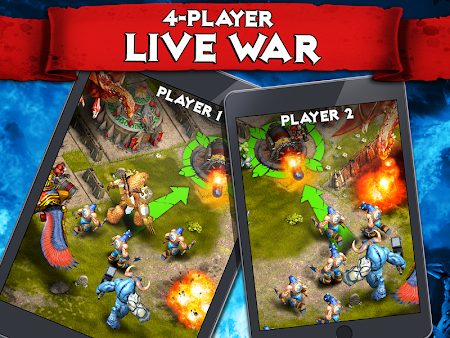 Heroes of War: Orcs vs Knights 1.2.4 screenshot 30482