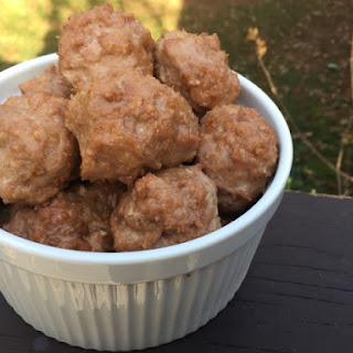 Orange Teriyaki Turkey Meatballs