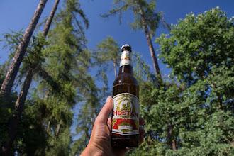 Photo: I na piwo ;)  Wypijam piwo i ucinam sobie godzinną drzemkę :)