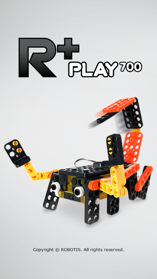 R+ Play700 (ROBOTIS)- screenshot
