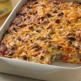 Impossibly Easy Breakfast Bake (Crowd Size).