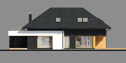 New House 9 - Elewacja tylna