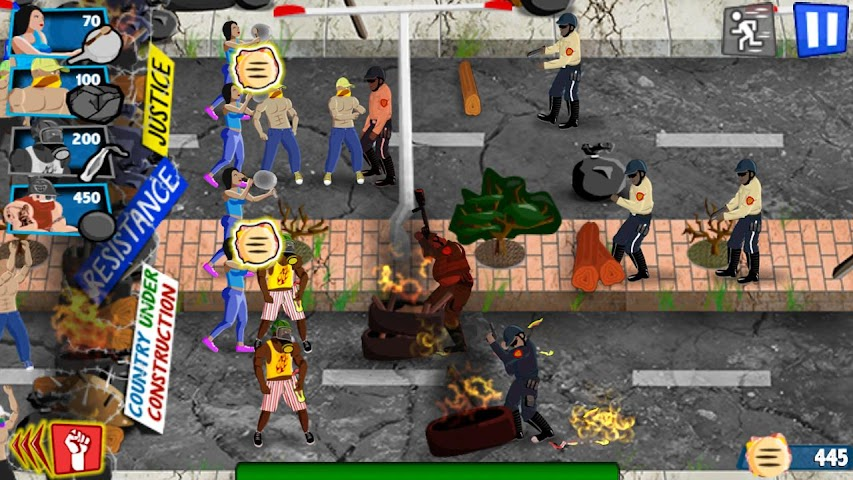 android Guarimba: A Town's Revolt Screenshot 5