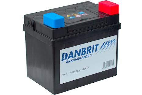 DANBRIT MC BATTERI 28 AH 12V 28AH---