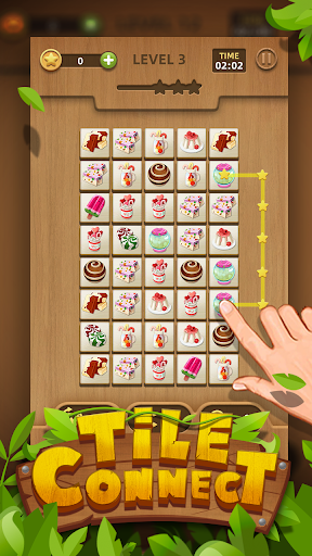Tile Connect - Free Tile Puzzle & Match Brain Game 1.1.0 screenshots 1