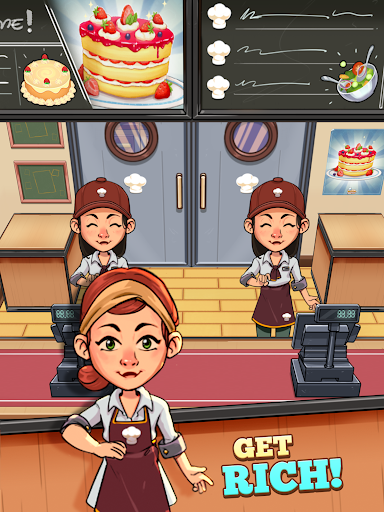 Idle Cook Tycoon: un simulador de gerente de cocina capturas de pantalla 6
