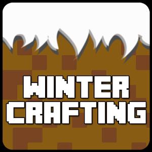 Winter Mine Crafting Amazing House Pocket Edition