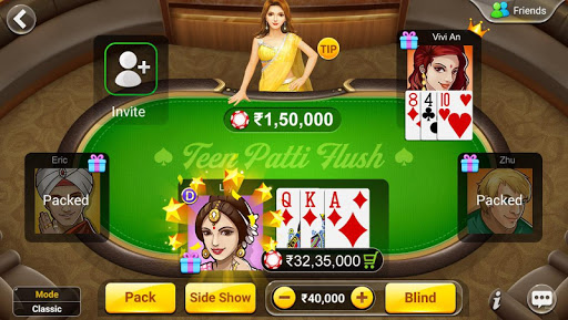 Teen Patti Flush: 3 Patti Poker 1.2.4 screenshots 3