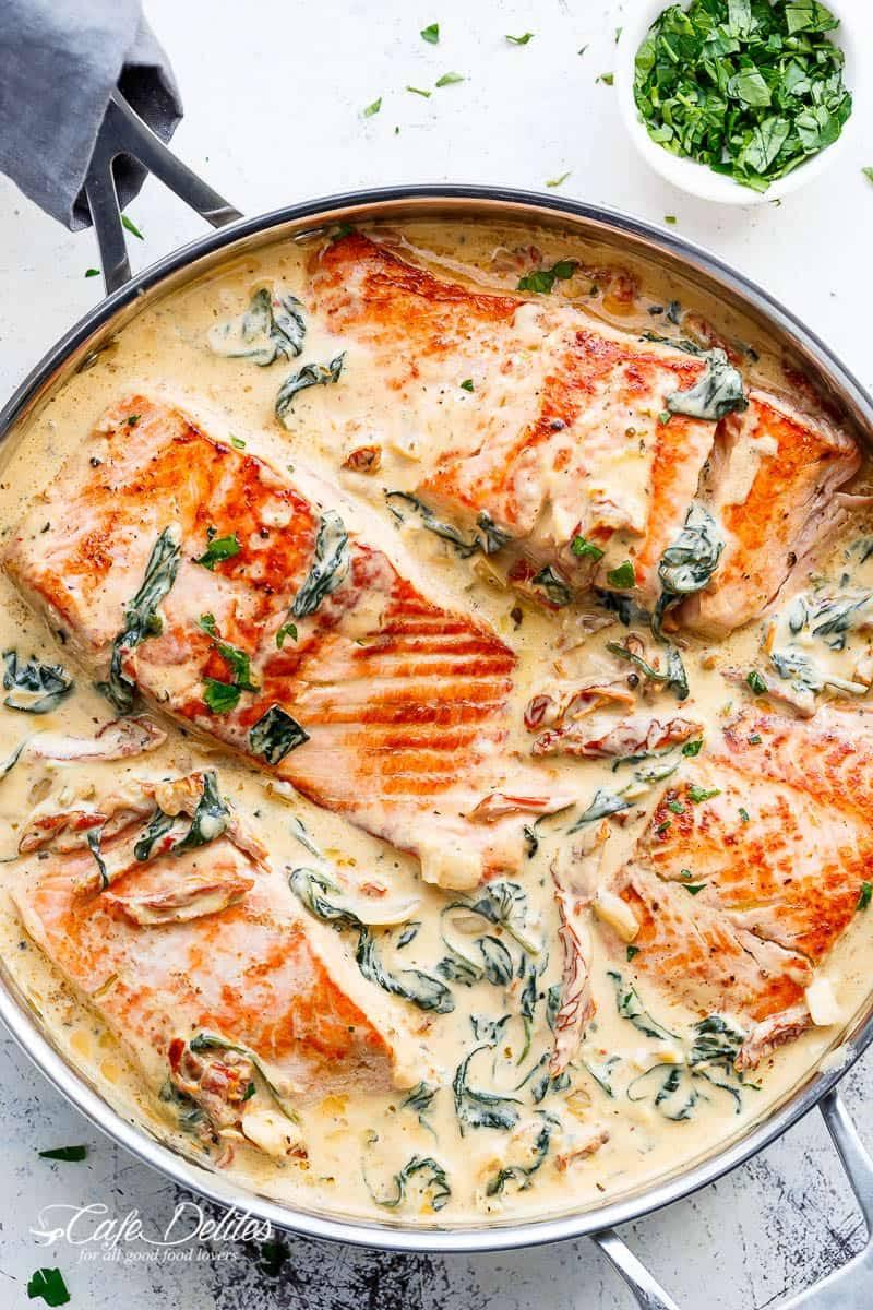 salmon sauce fillet recipes creamy