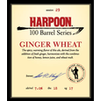 Harpoon 100 Barrel Series Ginger Wheat