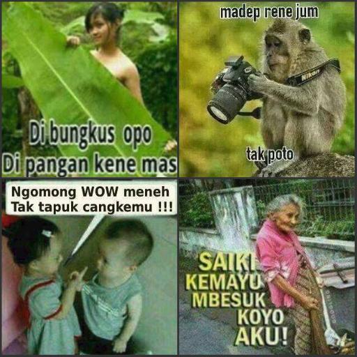 Gambar Lucu Bahasa Jawa 2019 Offline 1 0 Apk Download Com Kalegondes Gambarlucujawen Apk Free