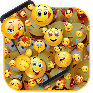 3d Emoji Live Wallpaper Hd Background Parallax 1 0 Apk