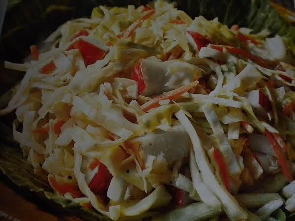 Lemon-apple Coleslaw