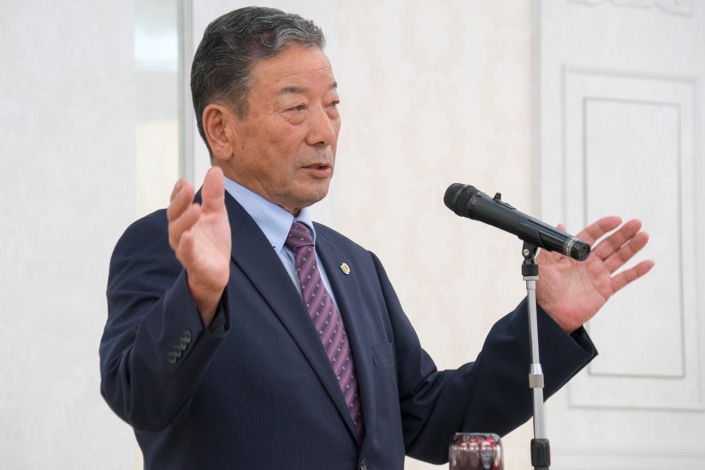 黄倉良二氏(元JAきたそらち代表理事組合長)