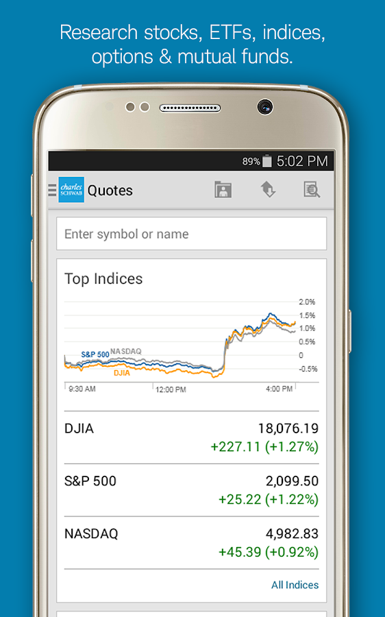 Schwab options trading application