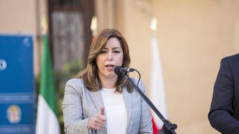 La presidente recibe hoy a los sindicatos en el Palacio de San Telmo
