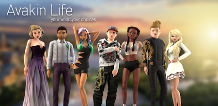 Avakin Life - 3D Virtual World APK poster