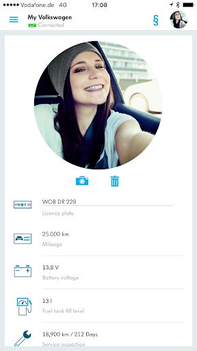 Volkswagen Connect screenshot 1