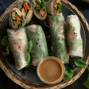 Fresh Salad Rolls (6Pcs)