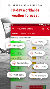 Windfinder - weather & wind forecast- screenshot thumbnail